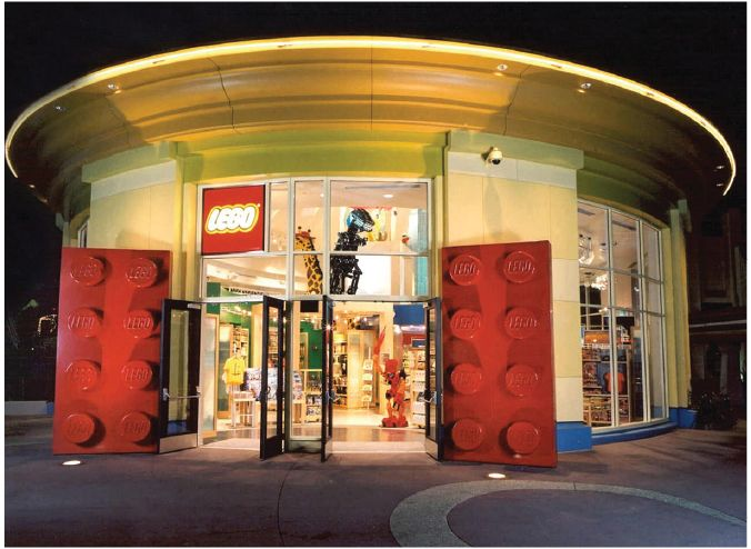 nFusion Companies of Nassal Lego Store Entrance
