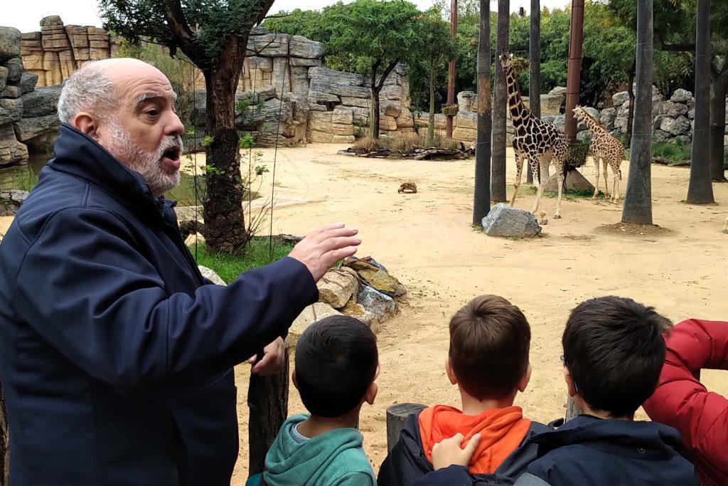 Antoni Alarcon Barcelona Zoo animalist