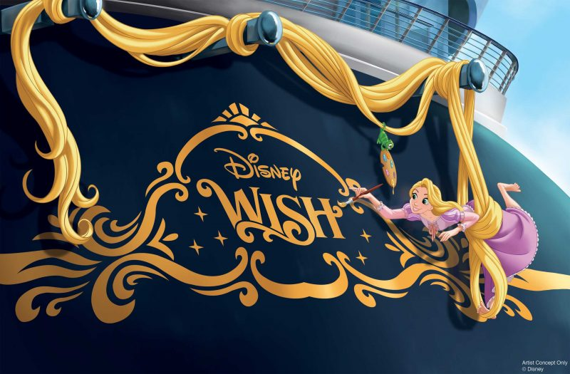 disney tangled cruise ship