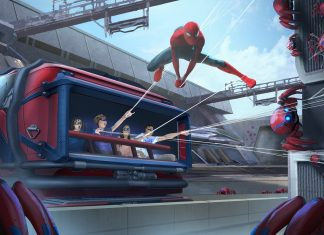 disney marvel spider-man avengers campus