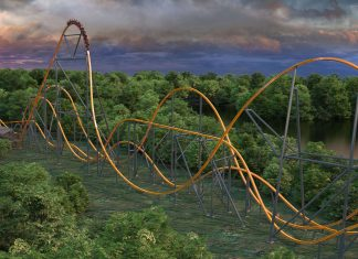 six flags jersey devil coaster
