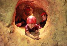Walltopia artifical caves kids