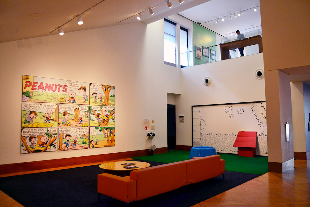 Charles M. Schulz Museum Peanuts