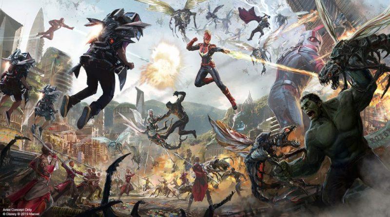 disney marvel avengers campus
