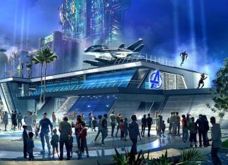 disney marvel avengers campus
