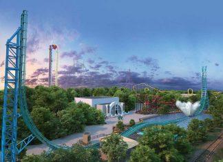 Six Flags 2020 line-up Mack Rides Aquaman Power Wave