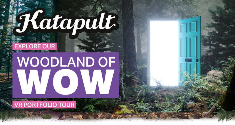 katapult woodland of wow VR tour