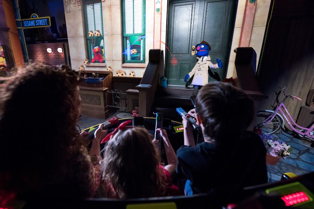 PortAventura Sesame Street dark ride