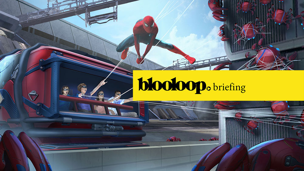 Blooloop briefing attractions news 7.9.19 spider-man avengers disney marvel