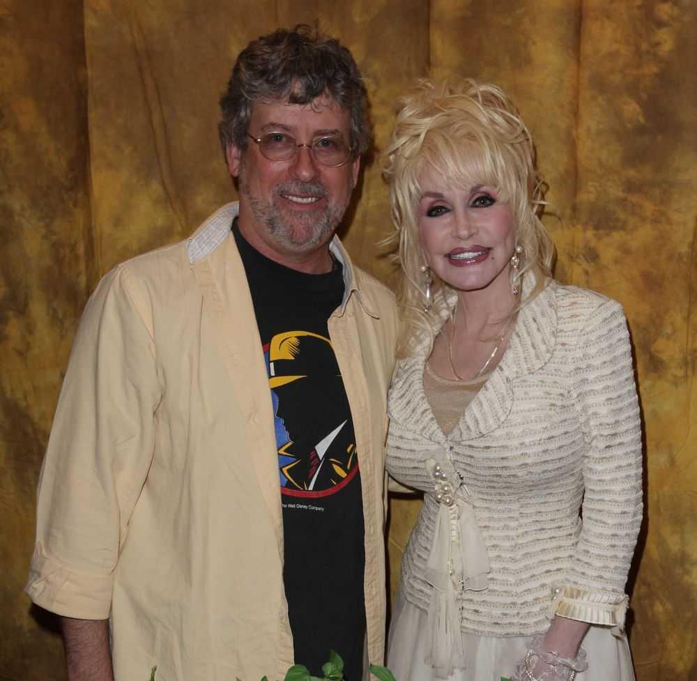 Bob Shreve and Dolly Parton