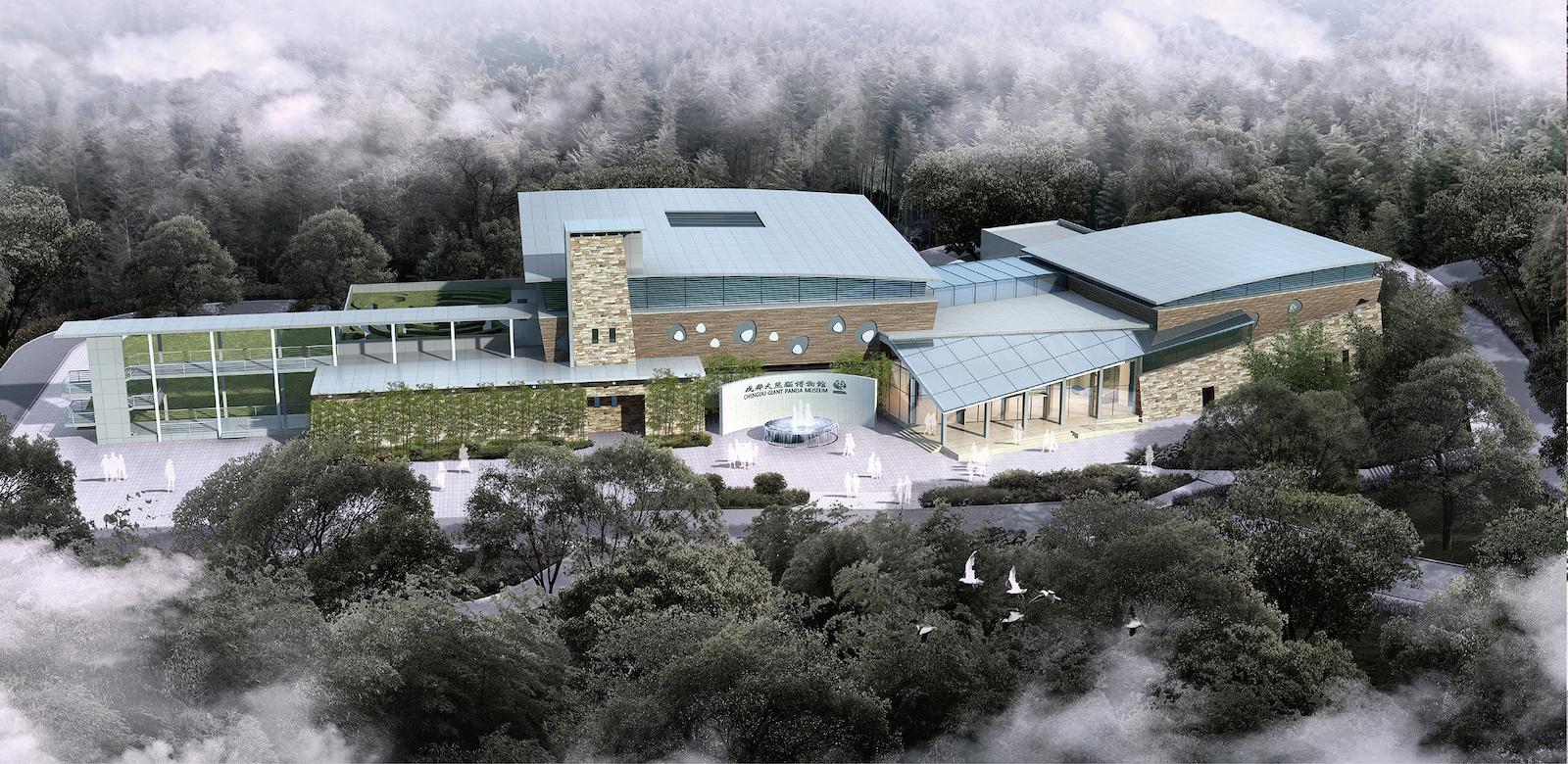 Jora Vision giant panda museum
