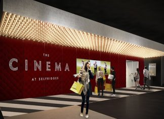 Selfridges Cinema Retailtainment blooloop