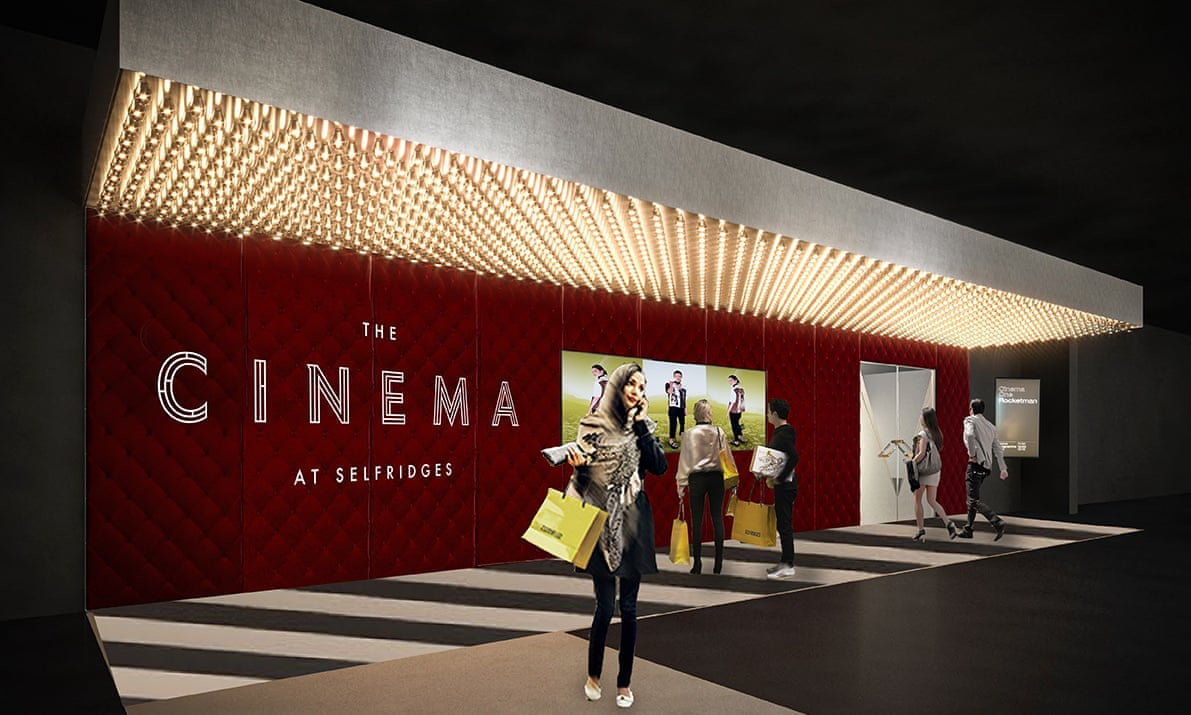 Selfridges Cinema Retailtainment blooloop