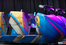 Guardians of the Galaxy: Cosmic Rewind – Disney shares first look at ride vehicles