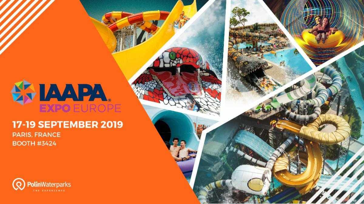 Polin Waterparks IAAPA Expo Europe 2019