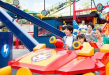 Garmendale unveils Kai's Sky Masters ride at Legoland Japan