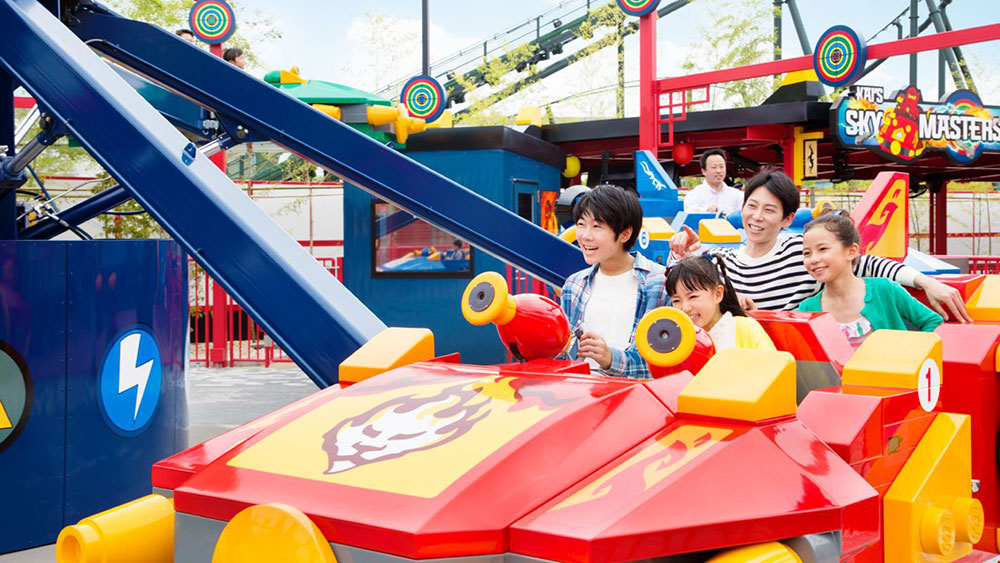 Kai's Sky Masters ride at Legoland Japan by Garmendale
