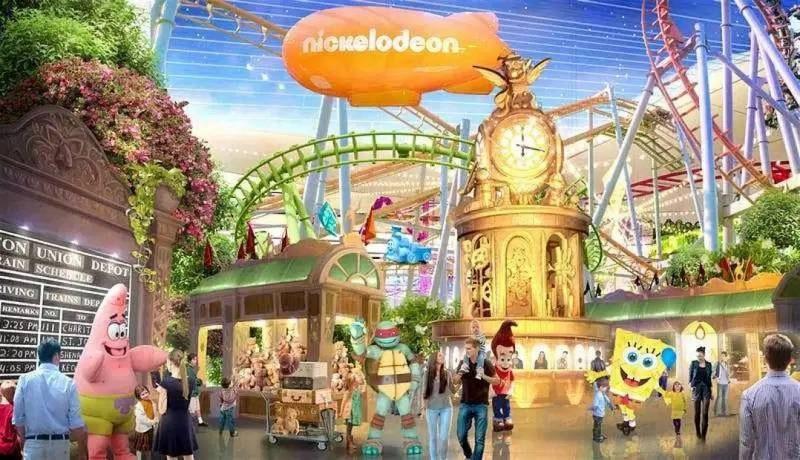 american dream nickelodeon theme park
