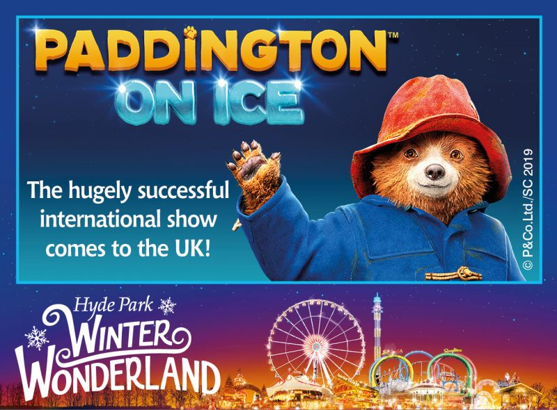 paddington on ice winter wonderland