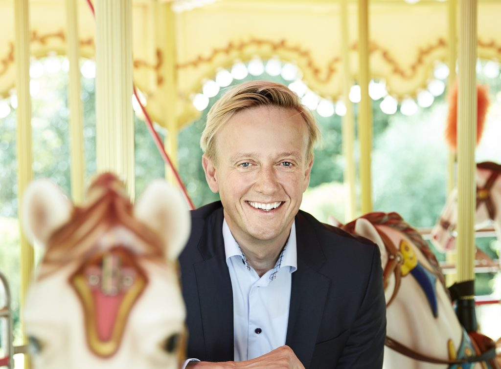 liseberg's andreas andersen on a carousel