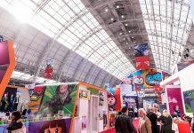 Brand Licensing Europe London Tradeshow floor