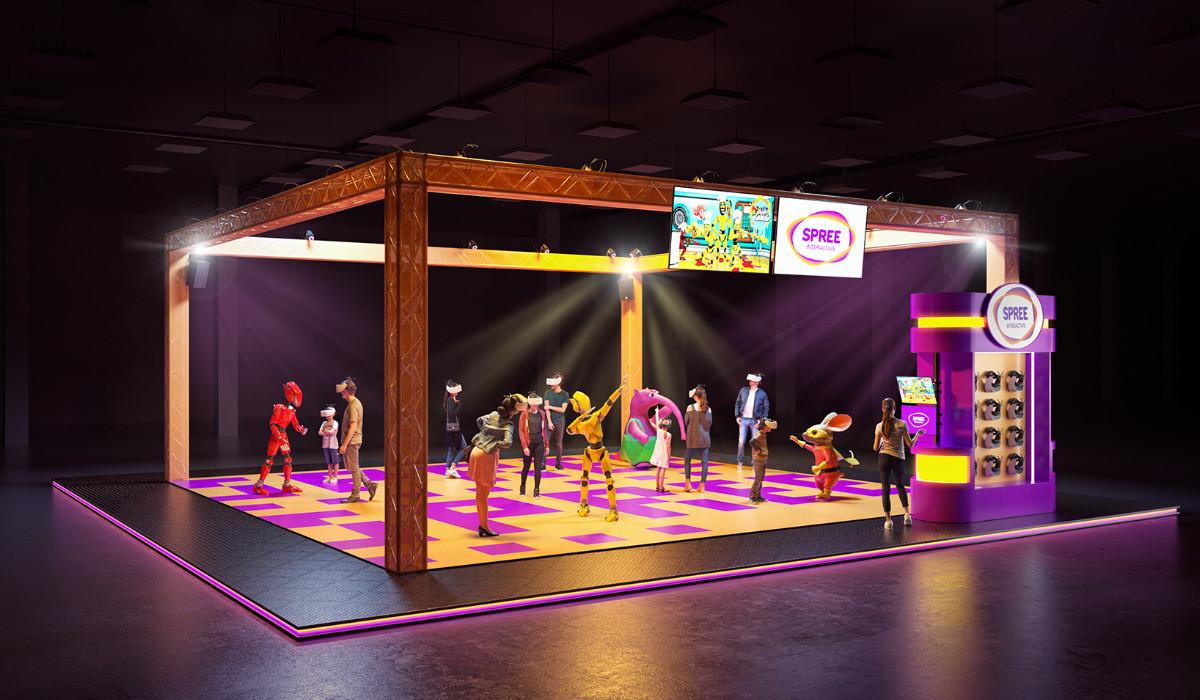 Render of SPREE VR Arena
