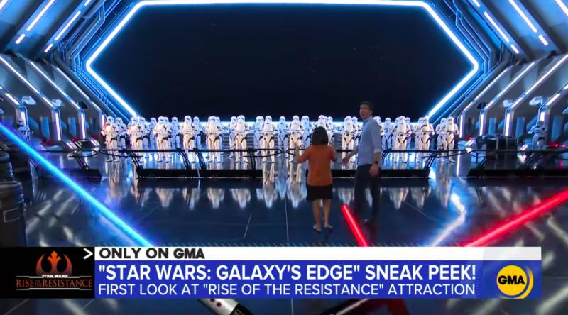Disney Shares Inside Look Of Star Wars Rise Of The Resistance Blooloop