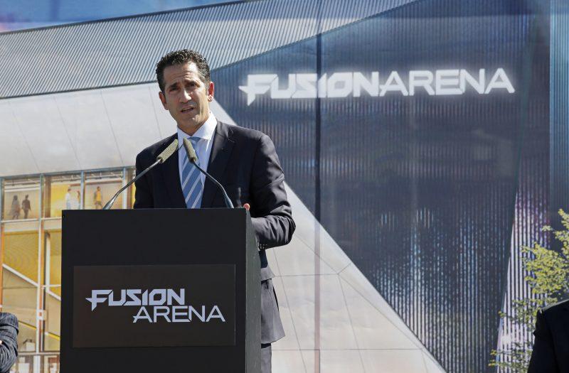 fusion arena groundbreaking