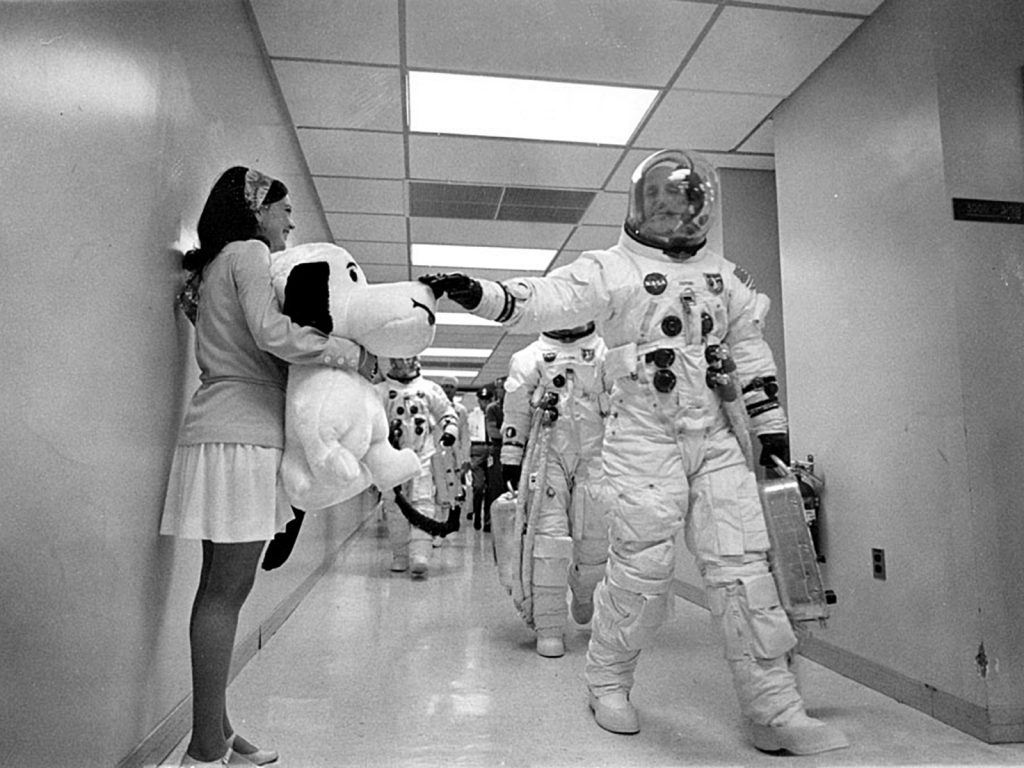 apollo_10_commander_tom_stafford with snoopy
