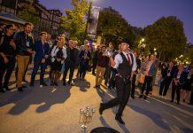 IAAPA Expo Europe Paris_IEE 2019_opening reception performer