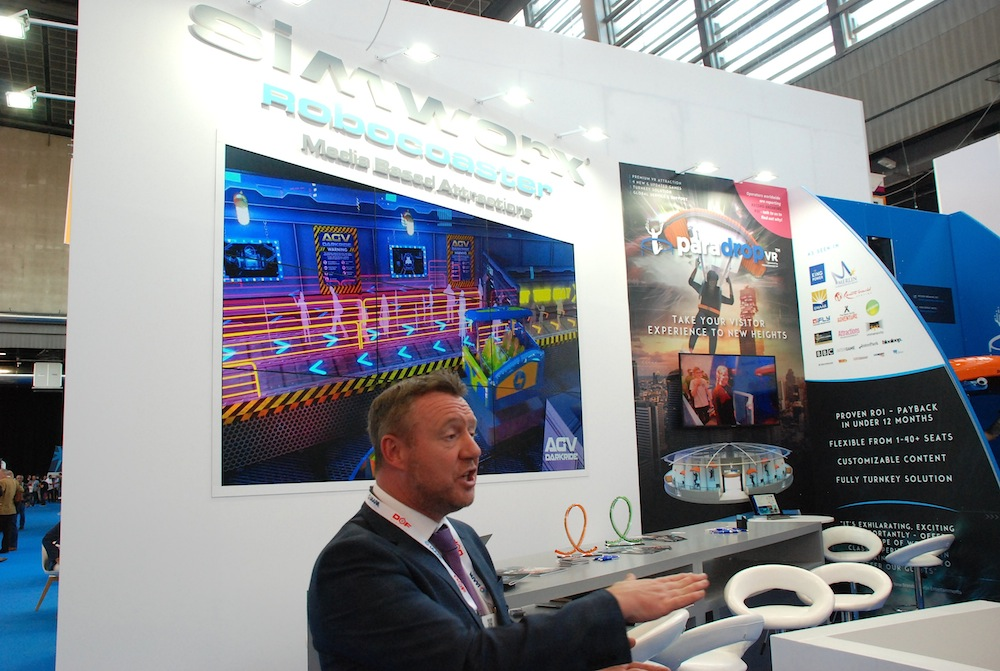 IAAPA Expo Europe 2019 review Simworx