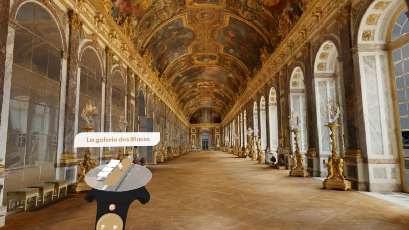 google virtual reality palace of versailles