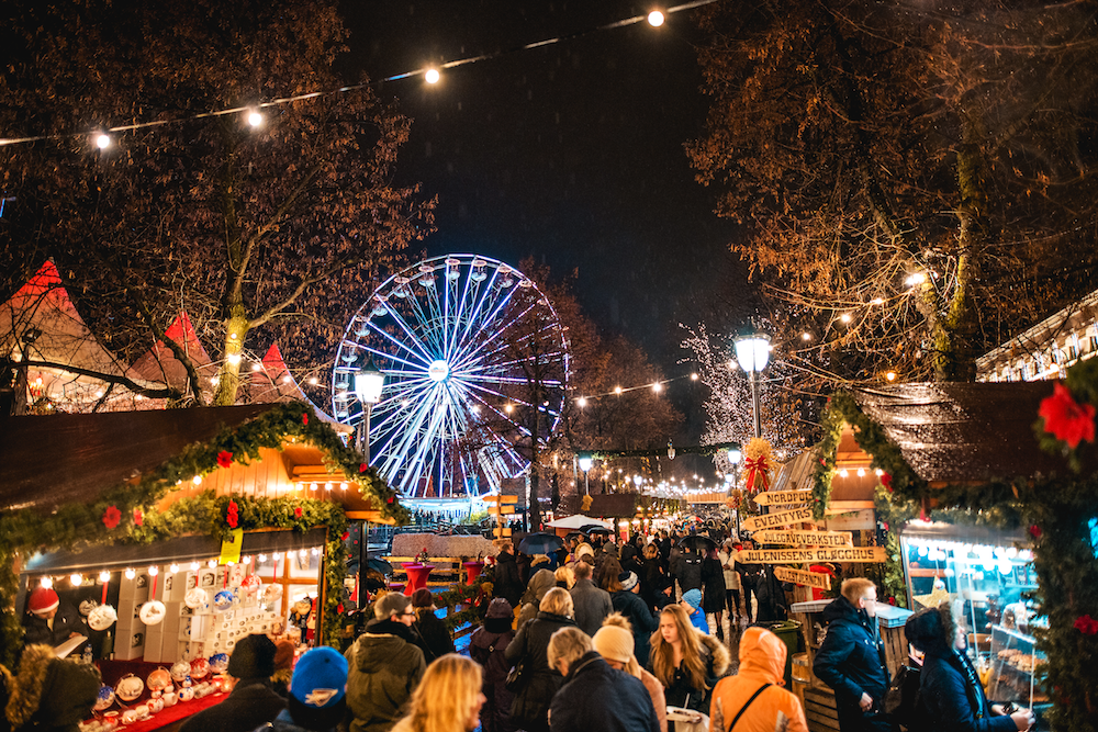 Lund Gruppen Jul i Vinterland Christmas Market, Oslo
