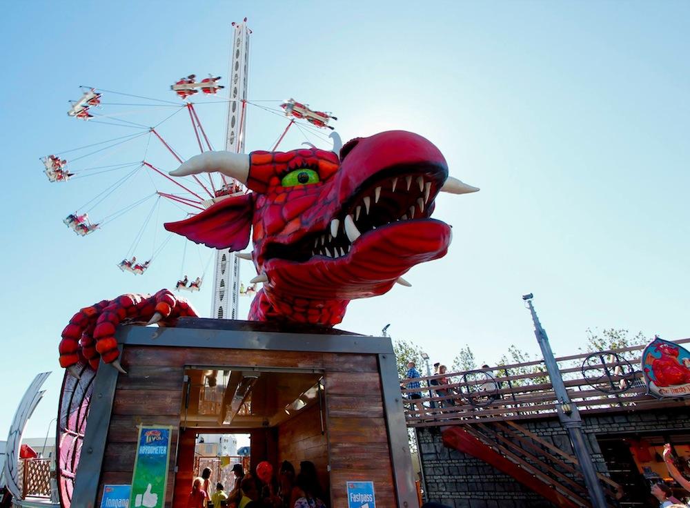 Lunds Tivoli Dragon Nest