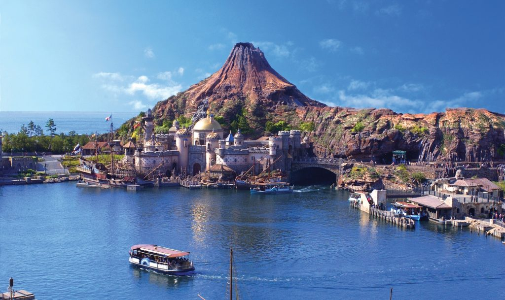 Top theme parks of the decade - tokyo disneysea is number 4