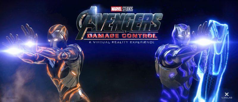 avengers damage control vr