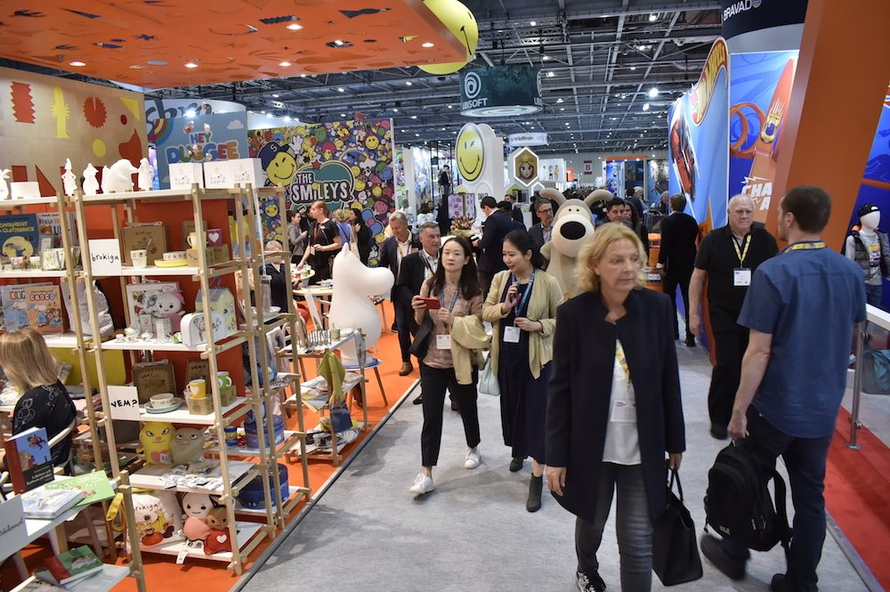 Moomin aisle at Brand Licensing Europe 2019