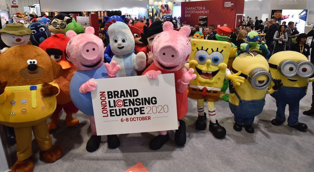 Brand Licensing Europe 2020 characters
