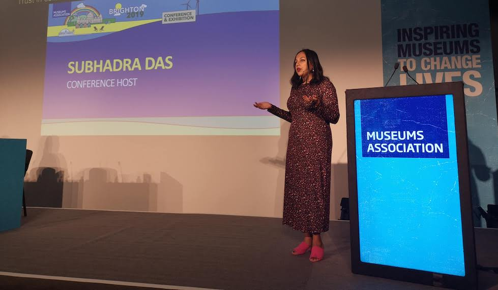 Subhadra Das, Museums Association Conference 2019