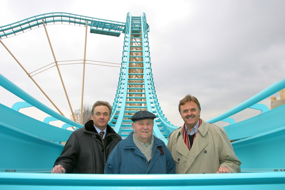 Jürgen, Franz and Roland Mack in 2005