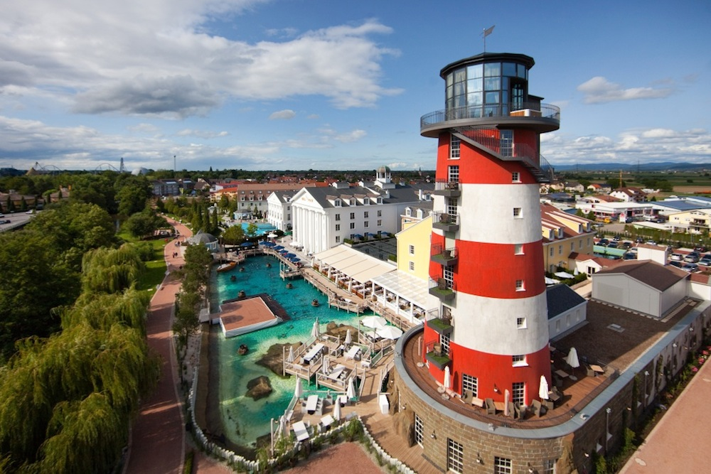 Europa-Park's Bell Rock hotel