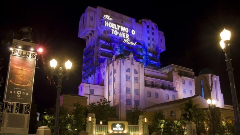 twilight zone tower of terror top theme park attractions