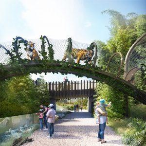 Auckland Zoo lowlands