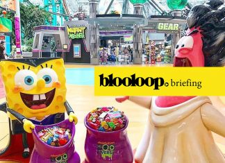 attractions news blooloop briefing nickelodeon booniverse halloween mall of america