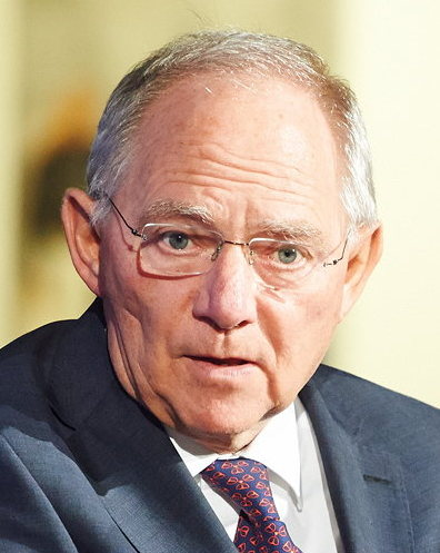 Dr Wolfgang Schäuble, President, Bundestag German Federal Parliament