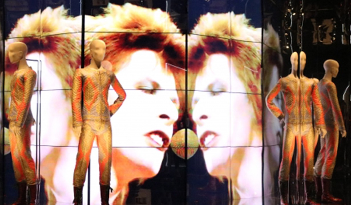 David Bowie Exhibition Panasonic Visual Solutions