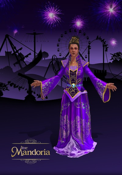 Lady Estelle, one of the citizens of Mandoria
