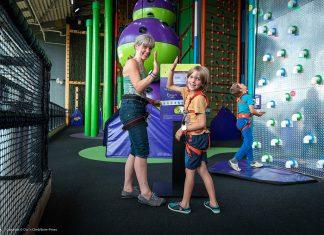 Clip 'n Climb family fun