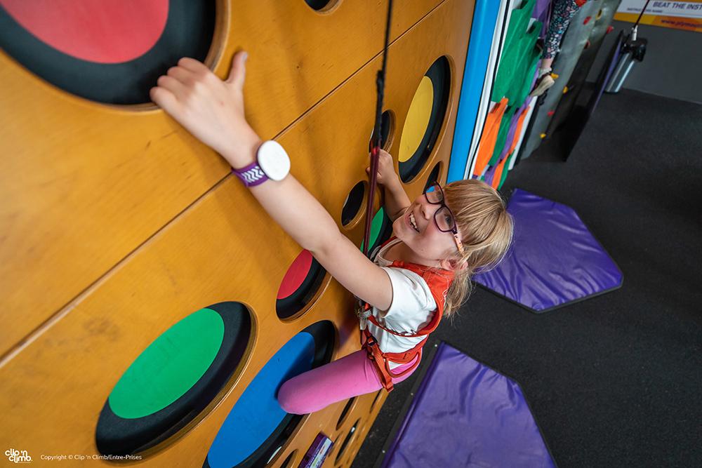 climbing wall clip 'n climb