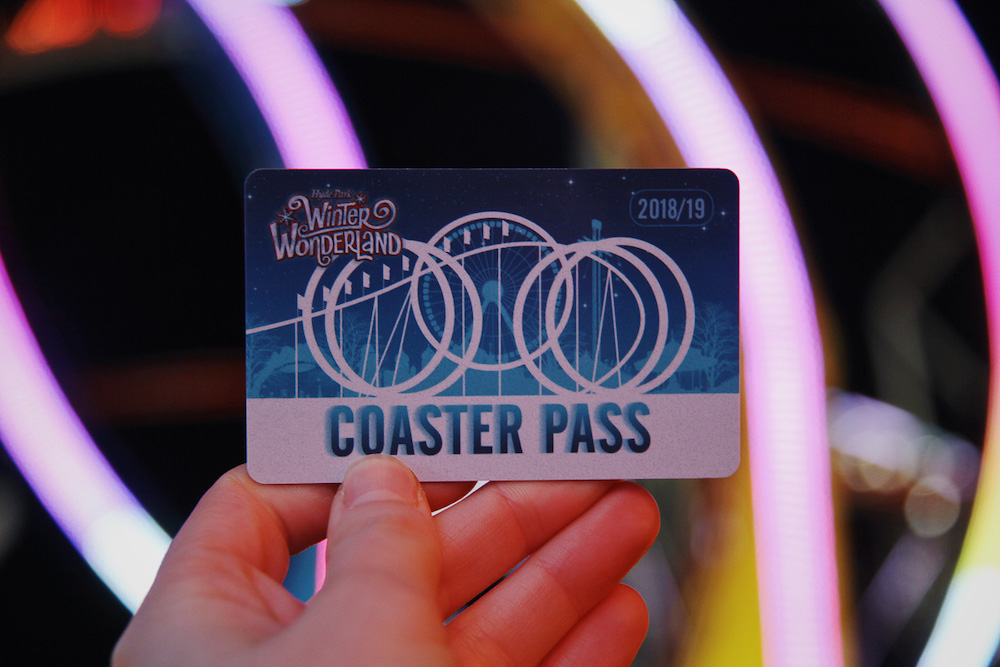 Hyde Park Winter Wonderland Ride Pass